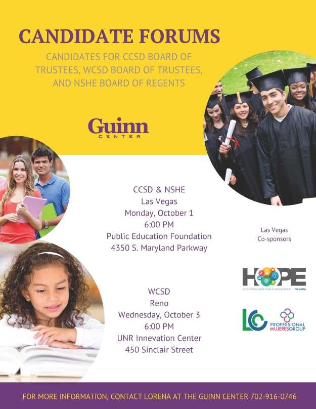 Guinn Center Education Forums