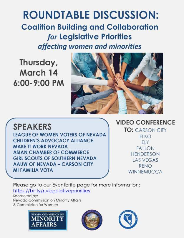 Legislative Collaboration discussion flyer